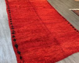Moroccan ombre red carpet
