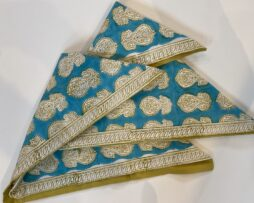 Indian-dyed pillow covers